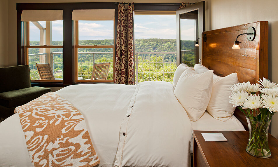 Austin luxury resort room